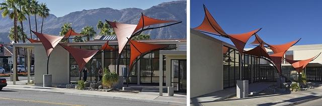 Thiết kế mái che lượn sóng theo xu hướng hiện đại