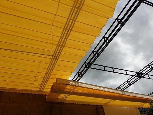 Những lưu ý khi thiết kế lắp đặt mái che ngoài trời