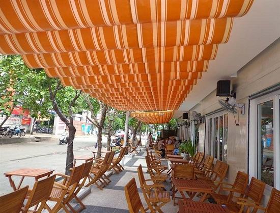 Phương pháp thay đổi diện mạo nhờ mái che nhà hàng