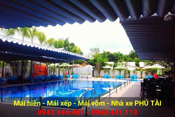 Mái che hồ bơi PT46