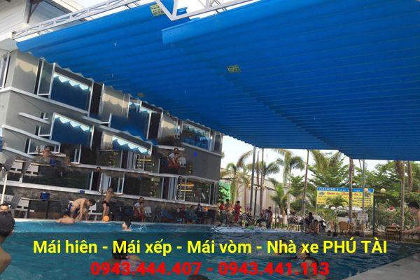 Mái che hồ bơi PT51