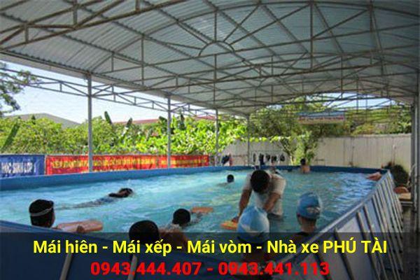 Mái che hồ bơi PT52