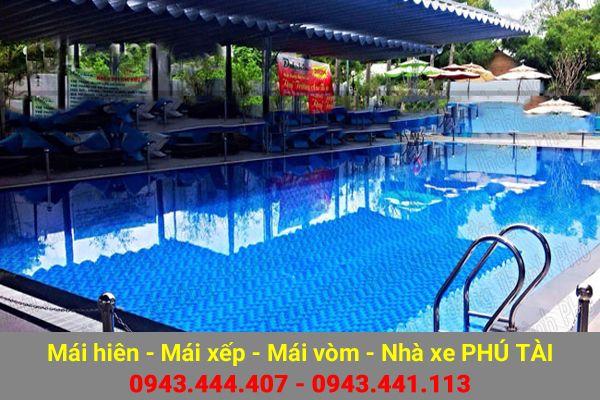 Mái che hồ bơi PT53