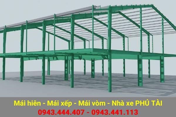Mái che nhà xưởng PT04