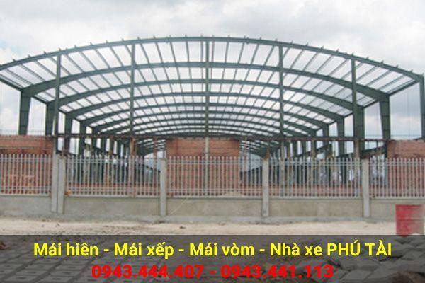 Mái che nhà xưởng PT01