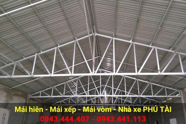 Mái che nhà xưởng PT17