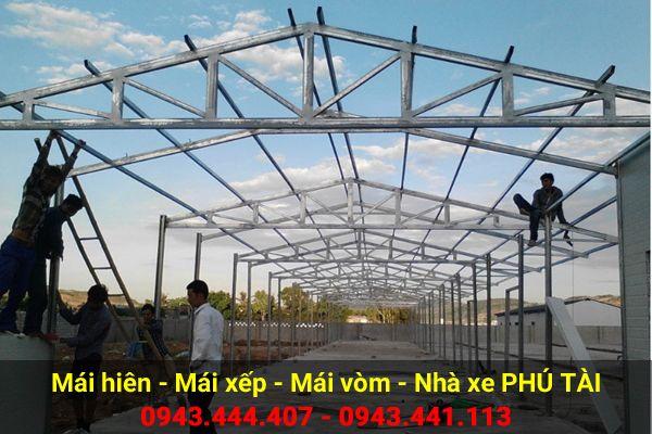Mái che nhà xưởng PT21