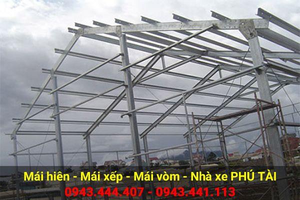 Mái che nhà xưởng PT22