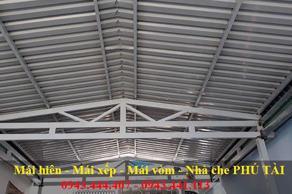 Mái che nhà xưởng PT23