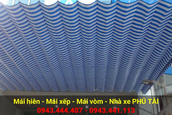 Mái hiên lượn sóng PT85
