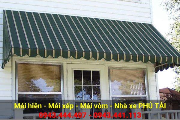 Mái vòm cửa sổ vân sọc quán cafe