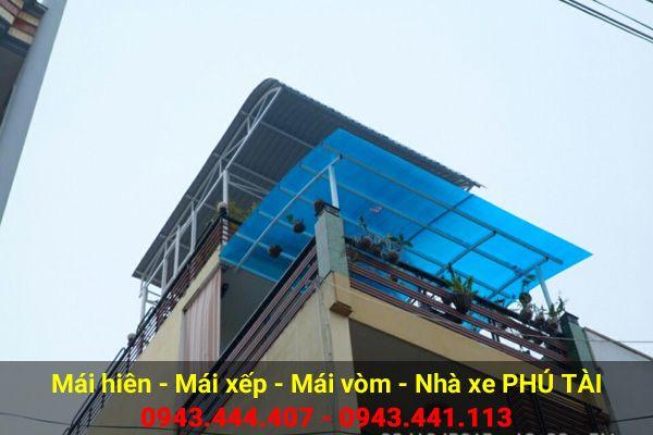 Mái vòm sân thượng PT68