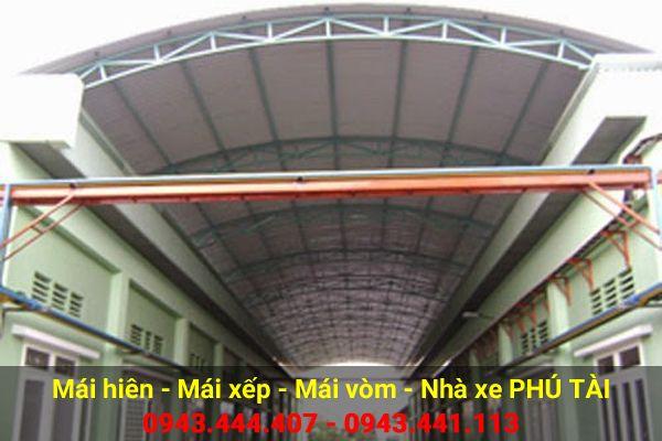Mái vòm sân thượng PT69