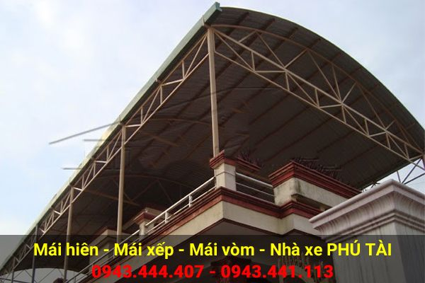 Mái vòm sân thượng PT72