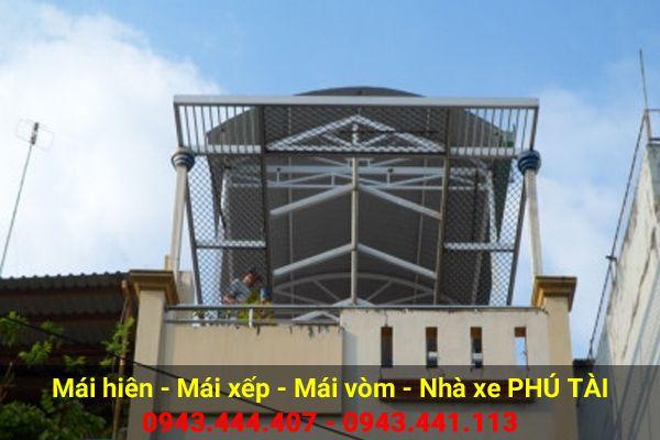 Mái vòm sân thượng PT73