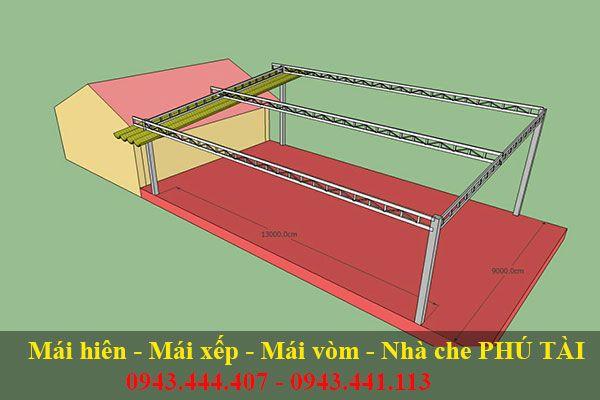 Mái xếp tự cuốn PT123